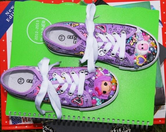 Custom listing for Shannon Kawaii Lalaloopsy Shoes