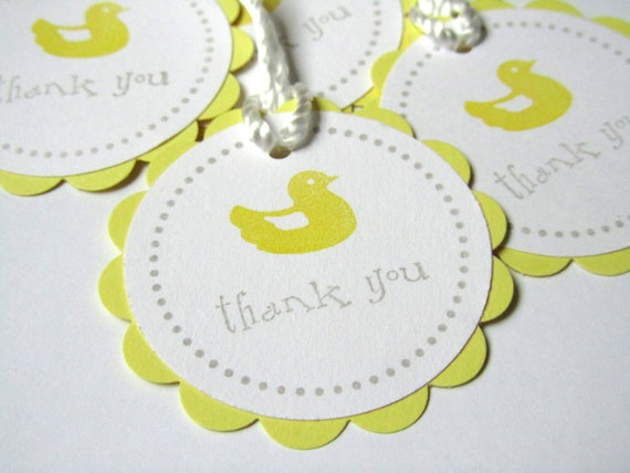 Baby Gift Labels : Items similar to baby shower favor tags treat labels
