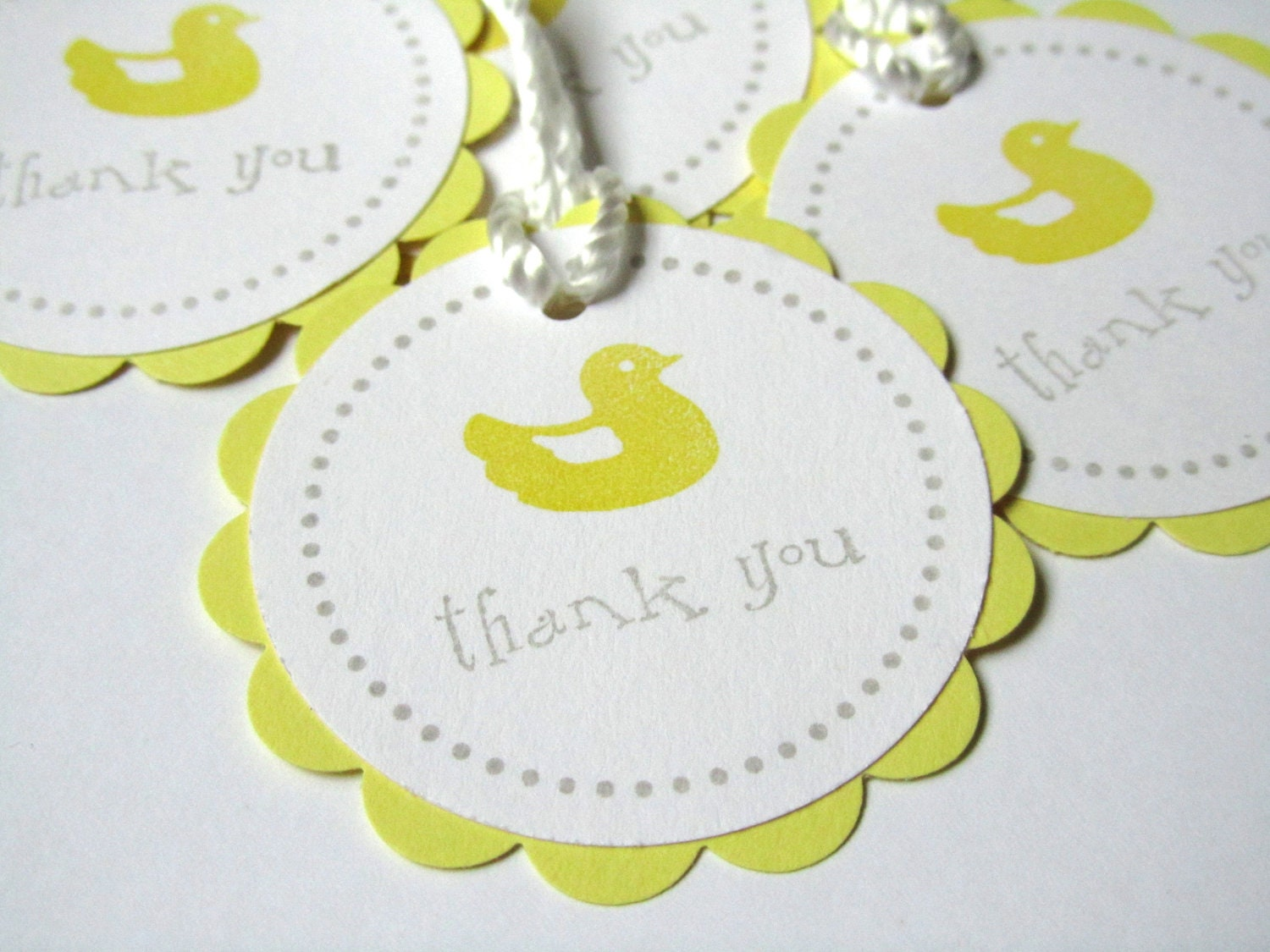 baby shower favor tags treat labels gift tags by wildbeanlore