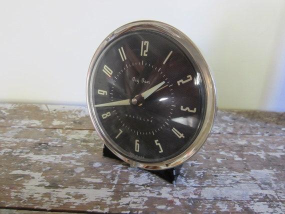 Vintage Alarm Clock Big Ben Westclox Clock Bedside Clock Timepiece Wind Up Clock