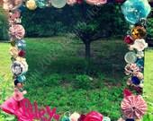 Handmade, Vintage Inspired, Chic, Fun, Personalized Children's Mirror