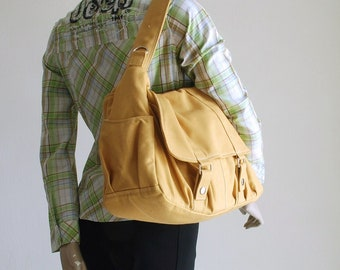 Sale SALE SALE 40% OFF- Messenger Bag, Pico2, Mustard, School Bag, Shoulder Bag, Messenger Bag, Canvas School bag, crossbody bag