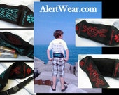 Waterproof Custom Epi-Pen  Fanny Pack / Case with Interchangable Designs by Alert Wear