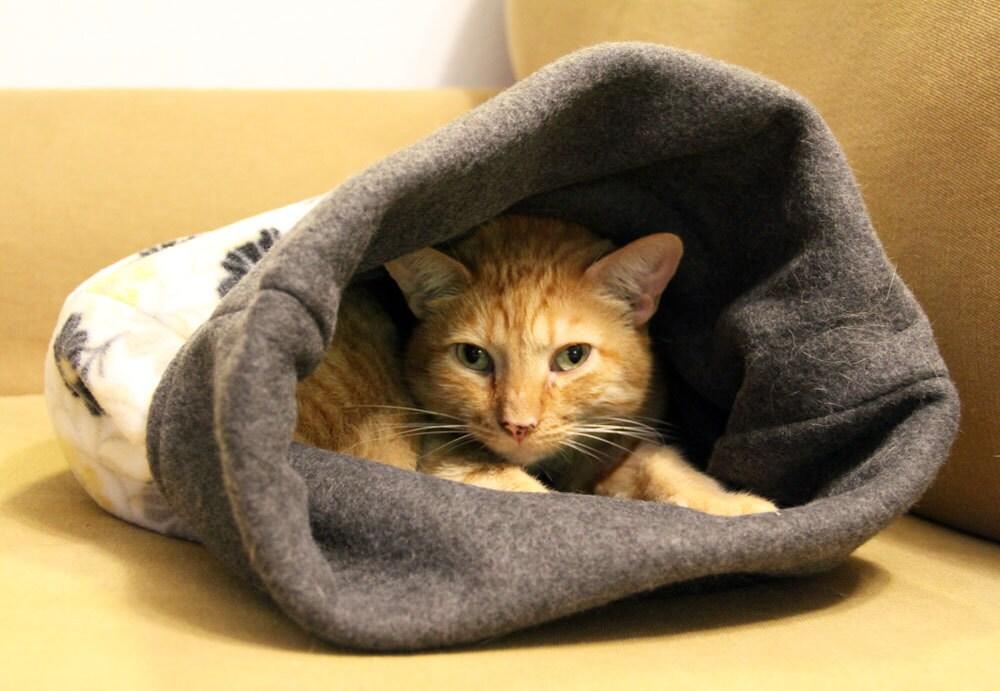 Dog Or Cat Burrow Bag Sleeping Bag Snuggle Sack Small