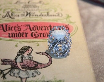 Fairy Tale Wedding Ring Book Geek Girl Ring