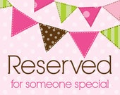Reserved listing for Tania Ortiz