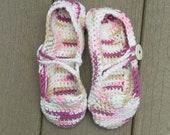 Mary Jane Ballet Slippers in Love Size Women's 5, 6, 7, 8, 8 1/2