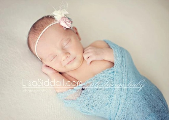 Cheesecloth Wrap Robin's Egg Blue, Newborn,Children or Adult Photography Prop