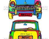 Mini cooper S art print