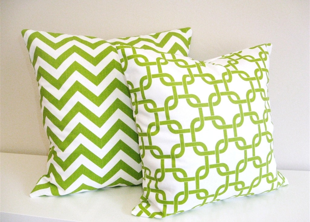 FLASH SALE Pillow Covers. Throw Pillows. Accent Pillows. Lime