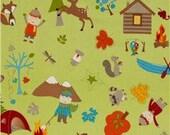 Custom Fox Trails Toddler Quilt - Reserved