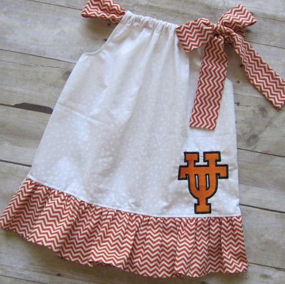 University of Texas Pillowcase Dress - University of Texas Horns Dress