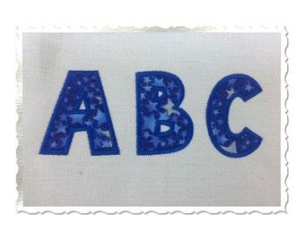 Toon Applique Machine Embroidery Font Monogram Alphabet - 5 Sizes