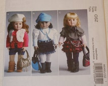 New McCall's 18' doll Clothes Pattern M6480