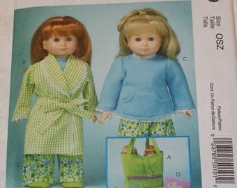 New McCall's 18' doll Clothes Pattern M5019