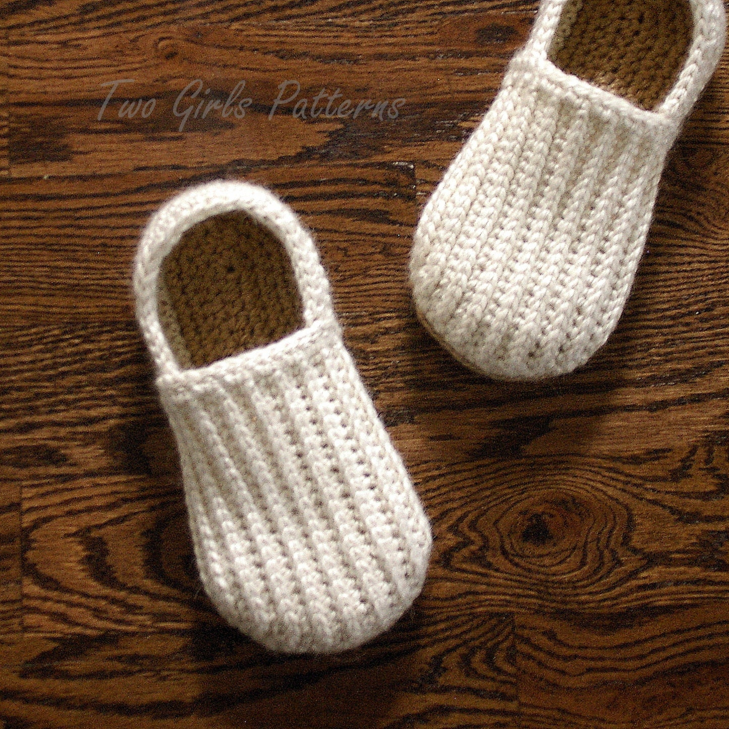 Knitted House Slippers Pattern : Crochet Pattern for Mens House Shoes the Lazy Day Loafers