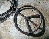 Peace - Copper Pendant