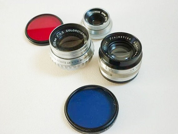 Collection of lens and filters