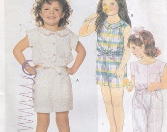 McCall's 3094, Size 6, Children's Shirt, Pants and Shorts Pattern, UNCUT, Play Clothes, School, Summer, Vintage Pattern