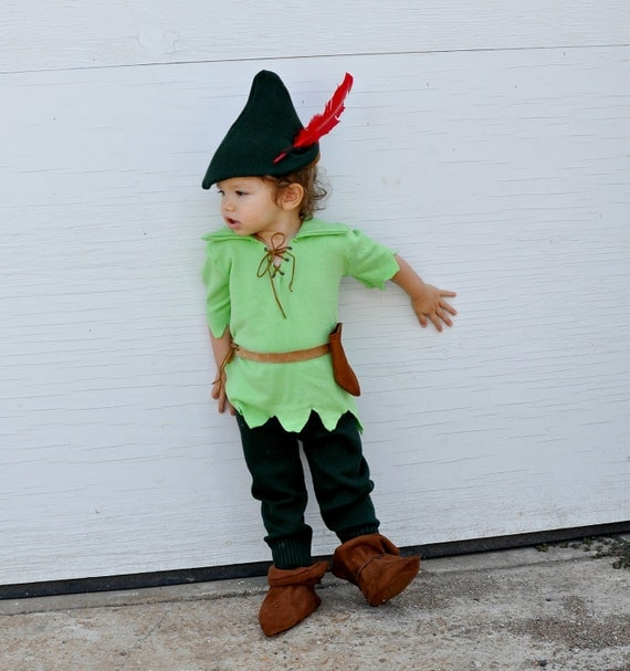 Items similar to reserved listing for liz peter pan inspired costume set robin hood costume boy
