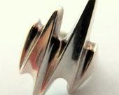 Vintage Georg Jensen Modernist Ring size7