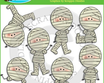 Little Mummy Clip Art