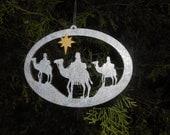WISE MEN Christmas Ornament, Art, Holidays, Seasonal, Decorative Art