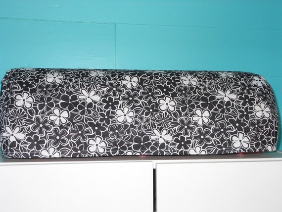 Black and White Floral Cricut Expression Dust Cover, Supplies, Scrapbooking