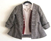 Size 3 Children's Hobbit Pirate Poet Coat