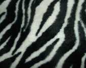 Zebra Fur PUL Waterproof fabric