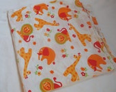 DDR or Germany 70s  original Pillow Cover Animals Elephants and others ..