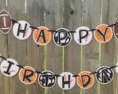 All Sports Birthday Banner Soccer, Football, Basketball, Baseball