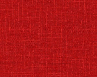 Tissu uni rouge- 0.5m