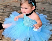 Cinderella Baby Girls Tutu Dress Birthday Party Costume Disney Princess Halloween Ribbon Trim Vintage Buttons