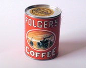 Folgers Coffee Promotional Puzzle in Unopened Can