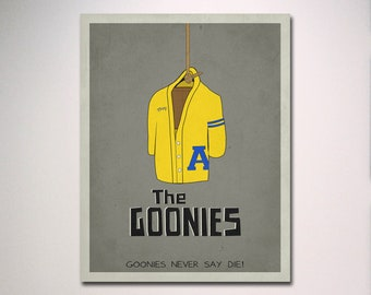 The Goonies Inspired Minimalist Movie Poster