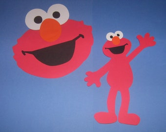 Elmo, Sesame Street, Birthday party decorations, invitations, gaames, banners, crafts