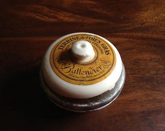 French Vintage foie gras terrine