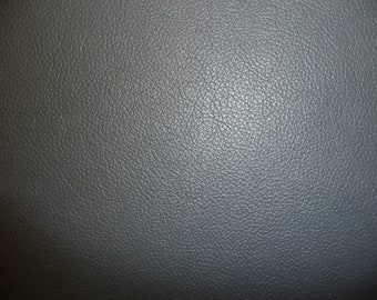 "Leather 20""x20"" Dark Gray Top Grain DIVINE Cowhide 2.5 oz /1 mm PeggySueAlso"