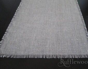Natural Linen & Flax Table Runner