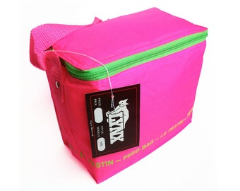 Totally Rad Neon 90s Lunch Bag