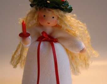 Santa Lucia  -Christmas- Flower Child - Waldorf  Inspired
