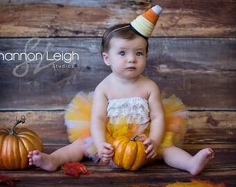 Candy Corn Costume Newborn Halloween Costume Baby Halloween Costume Halloween Tutu With Matching Hat Candy Corn Tutu Halloween Photo Prop