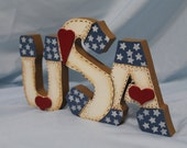 USA Sign