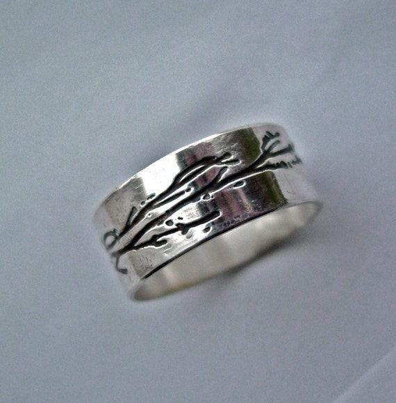 Tree branch ring jewelry