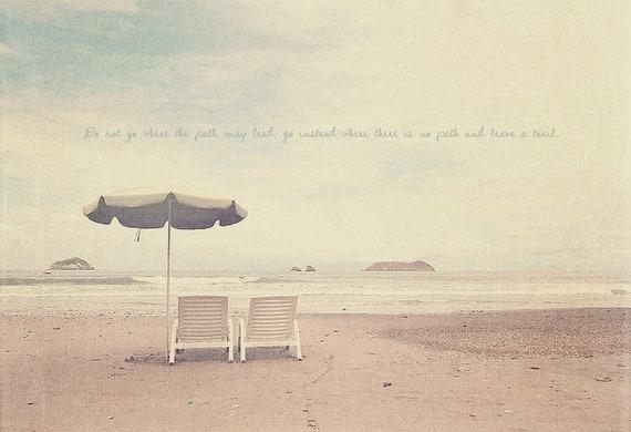 Sea Lover, Ocean Lover, Beach Lover, Inspirational Art, Inspirational Quote, Beach Umbrella, Blue Green, Beach Photography, Beach Wall Art