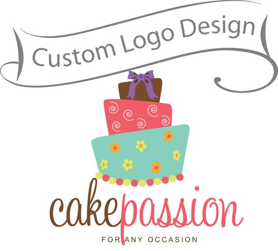 Custom Logo Design - business logo - baking logo, photography logo
