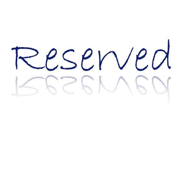 """Reserved for """"Jocelyn de Leon"""" -EMS fee"""