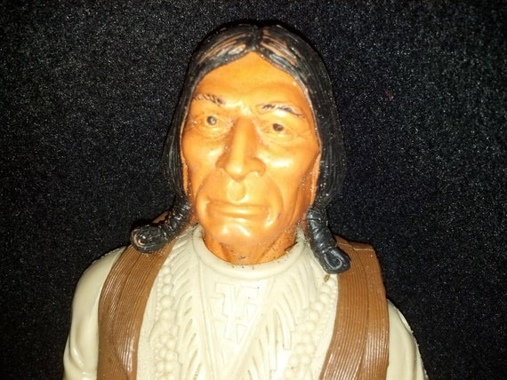 Sale 1970s Marx Geronimo Doll