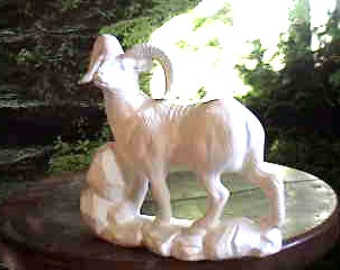 Realistic Ram, Mountain Sheep, Wild Sheep, Ready to paint, Realistic Wildlife, North America, Ceramic Bisque, u-paint